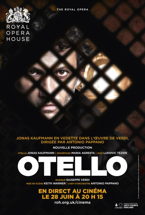 Otello (Royal Opera House) : Affiche
