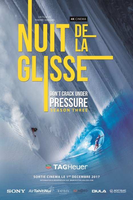 LA NUIT DE LA GLISSE Don't Crack Under Pressure season three : Affiche