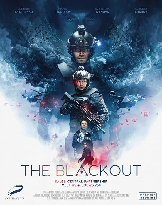 The Blackout : Invasion Earth : Affiche
