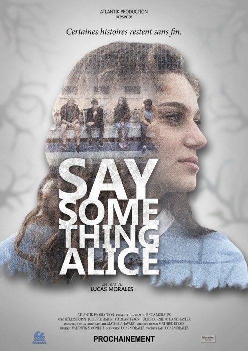 Say something Alice : Affiche