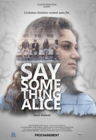 Affiche de Say something Alice