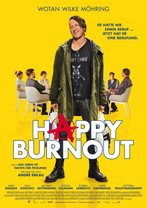 Happy Burnout : Affiche