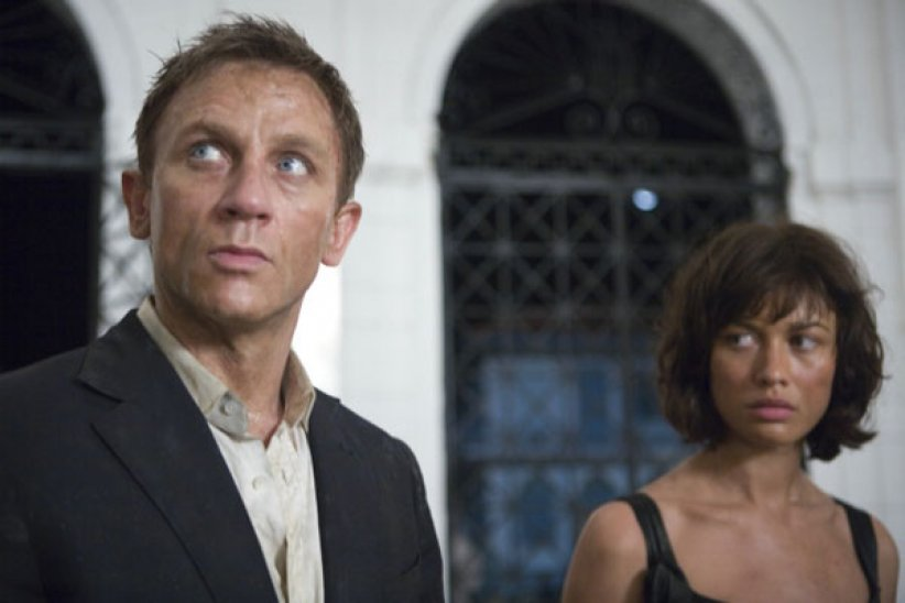 Quantum Of Solace : Photo Daniel Craig, Olga Kurylenko