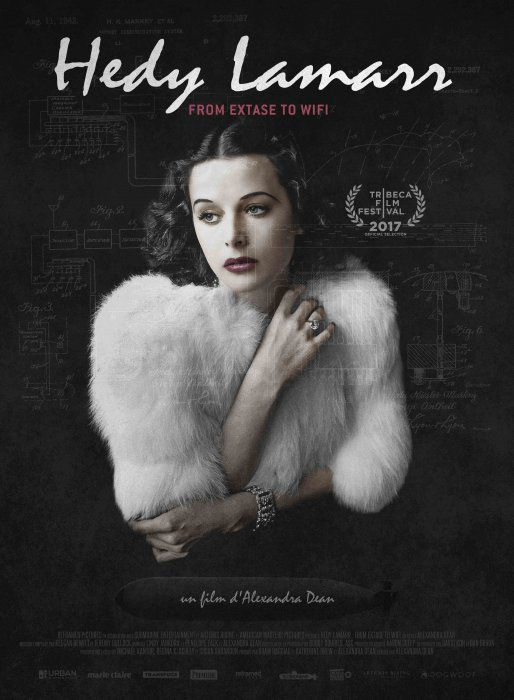 Hedy Lamarr: from extase to wifi : Affiche