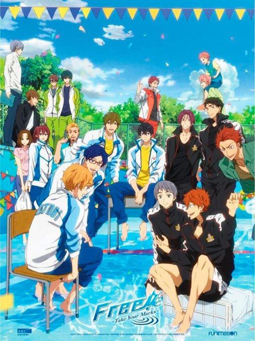 Free! Take Your Marks : Affiche