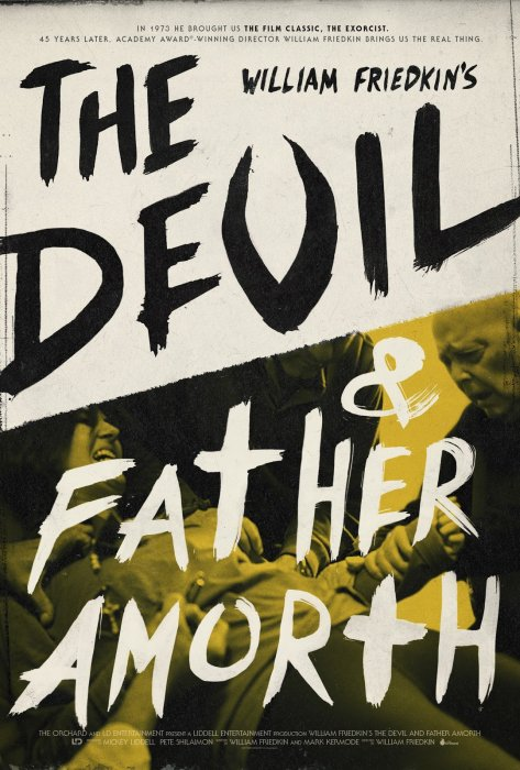 The Devil and Father Amorth : Affiche