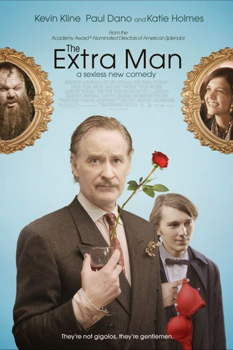 The Extra Man : affiche