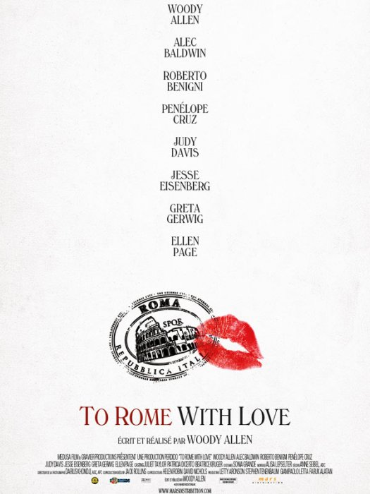 To Rome with Love : affiche