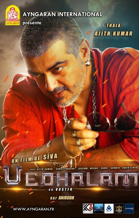 Vedalam : Affiche