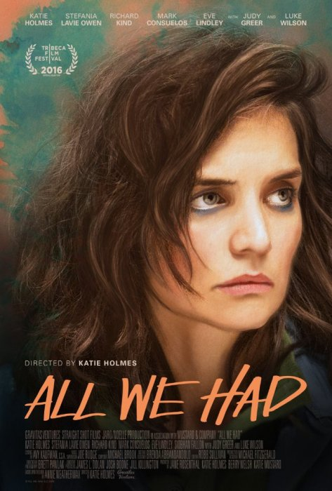 All We Had : Affiche