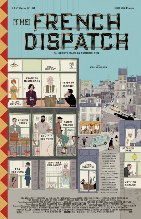The French Dispatch : Affiche