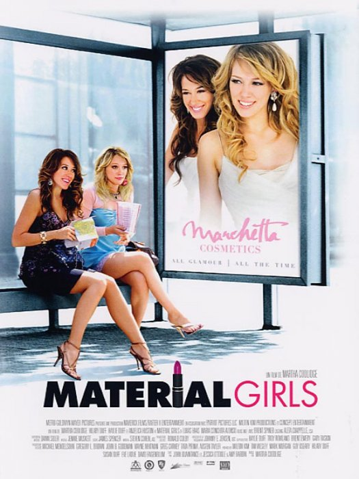 Material Girls : Affiche Martha Coolidge