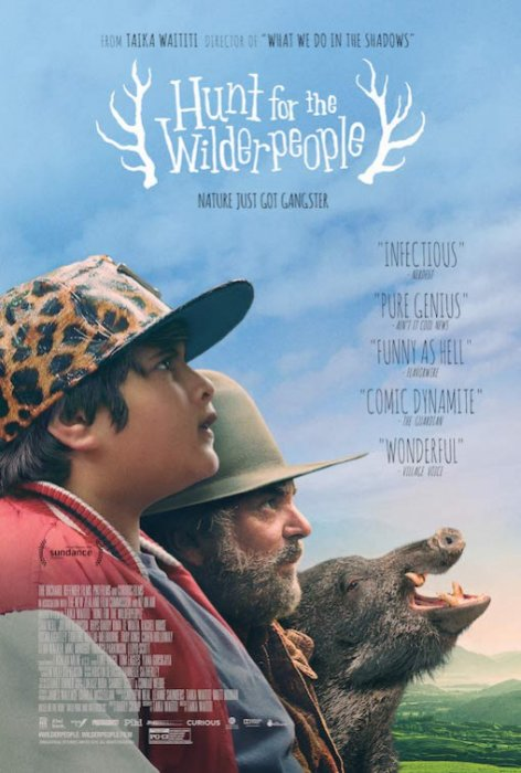 Hunt for the Wilderpeople : Affiche