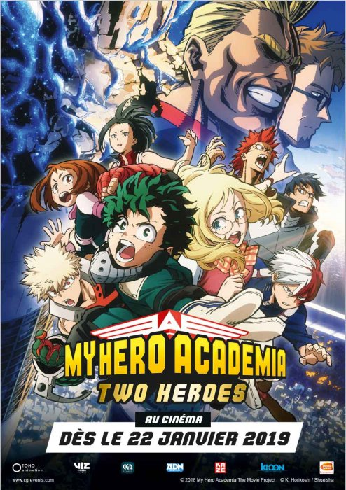 My Hero Academia : Two Heroes (CGR Events 2019) : Affiche