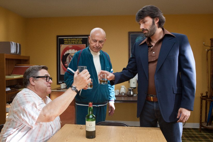 Argo : photo Alan Arkin, Ben Affleck, John Goodman