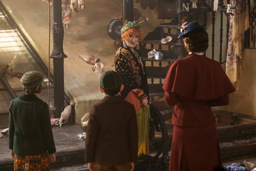 Le Retour de Mary Poppins : Photo Meryl Streep