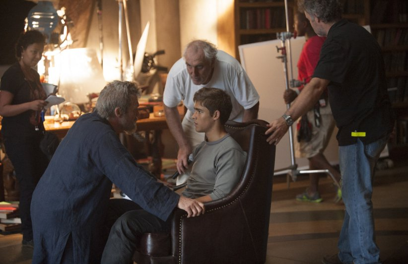 The Giver : Photo Brenton Thwaites, Jeff Bridges, Phillip Noyce