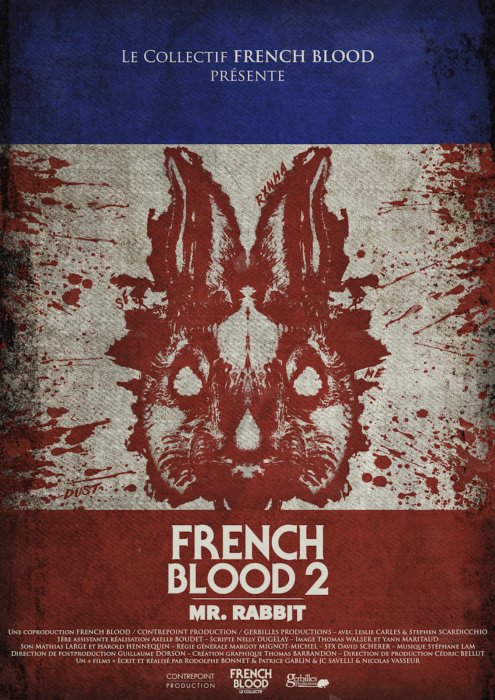 French Blood 2 - Mr. Rabbit : Affiche