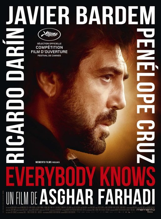 Everybody knows : Affiche