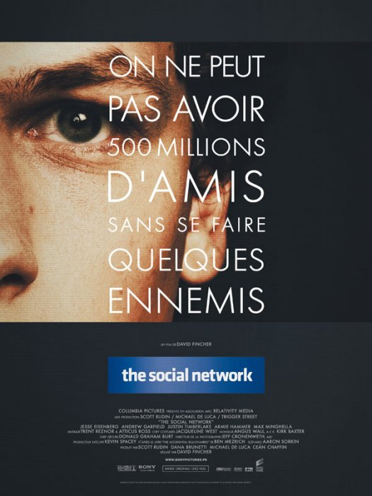 The Social Network : affiche