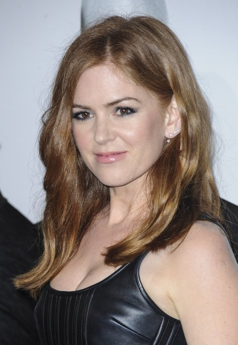 La flamboyante Isla Fisher