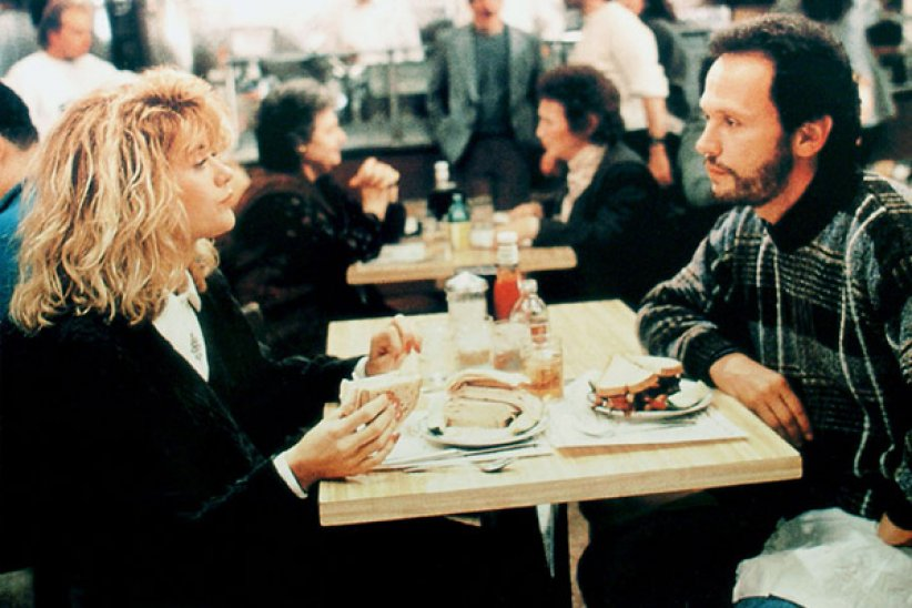 "La simulation de Meg Ryan dans ""Quand Harry rencontre Sally"""