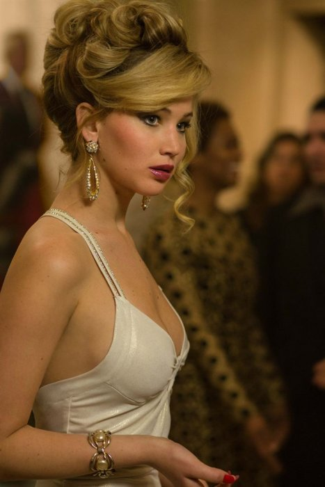 "Jennifer Lawrence dans ""American Bluff"""