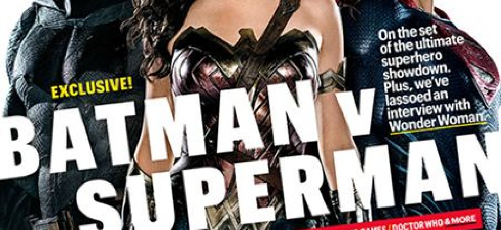 Batman V Superman s'affiche avec Wonder Woman en une du Entertainment Weekly