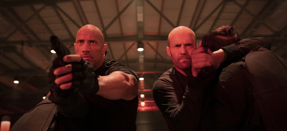 The Rock, Jason Statham et Vin Diesel refusent de perdre à l'écran