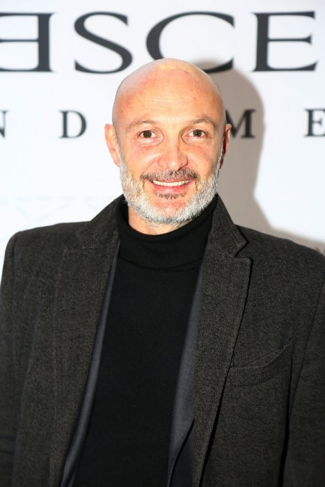 Frank Leboeuf lors de la soirée Diamond Night by Divinescence pendant le Paris Art Fair au Grand Palais à Paris, le 26 mars 2015.