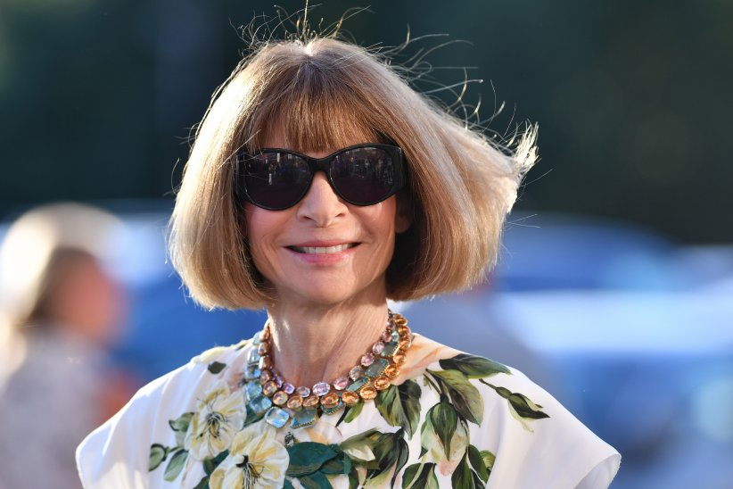 Anna Wintour au Gala de l'US Open à New York, le 29 août 2016.