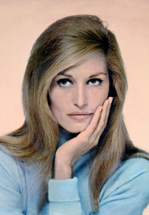 Photo d'archive de Dalida.