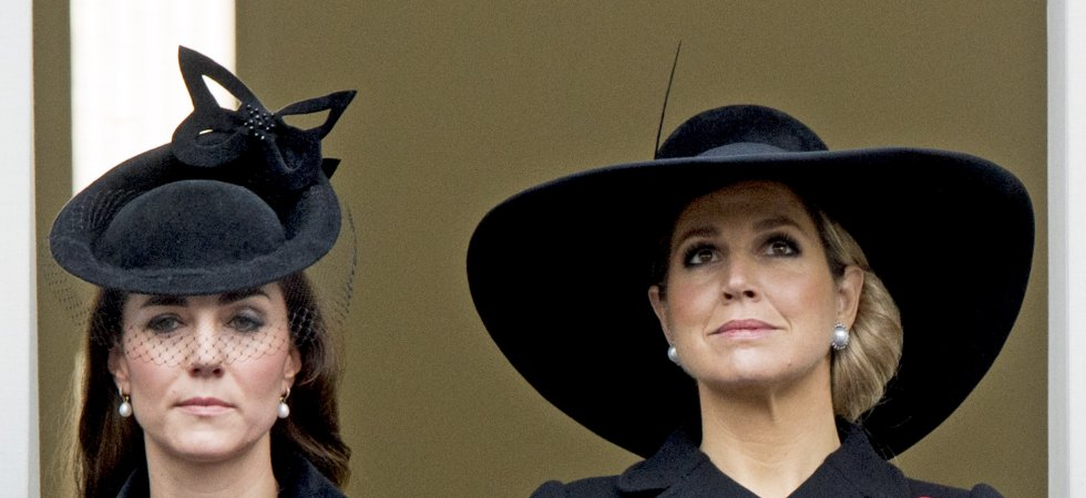 Remembrance Sunday : Kate Middleton et la famille royale se recueillent