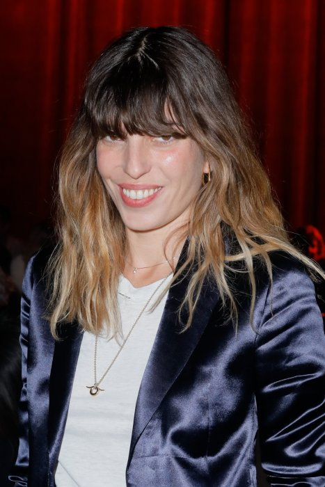 Lou Doillon et John Ulysses Mitchell, parents de Marlowe Jack Tiger