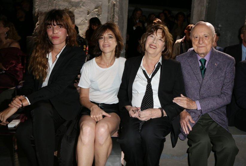 fc8607c9f3a2 Les Gainsbourg et Pierre Bergé réunis lors d un défilé