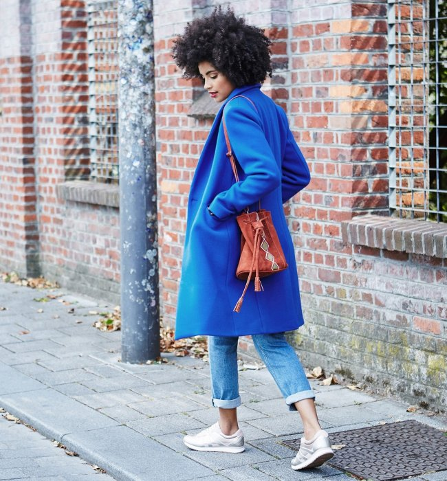 Le manteau color block