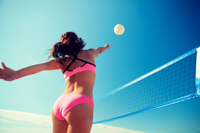 Le beach-volley, sport roi de la plage