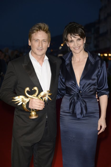 Benoît Magimel et Juliette Binoche, parents de Hannah