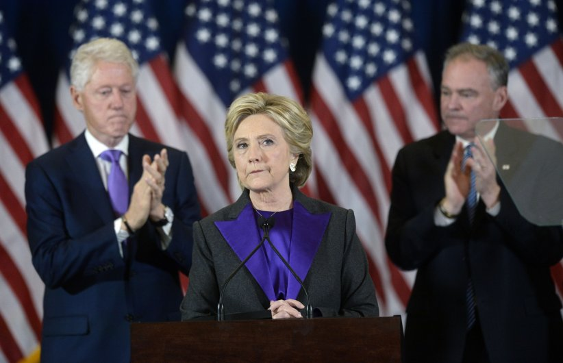 Hillary Clinton battue par Donald Trump