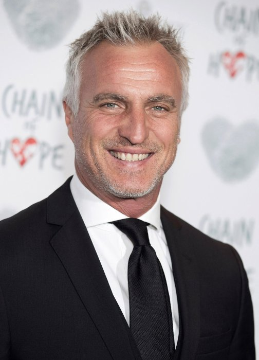 David Ginola lors de la soirée Chain of Hope à Londres, le 18 novembre 2016.