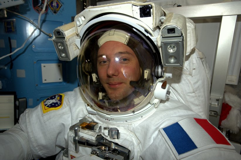 Thomas Pesquet dans la Station spatiale internationale, le 30 décembre 2016.