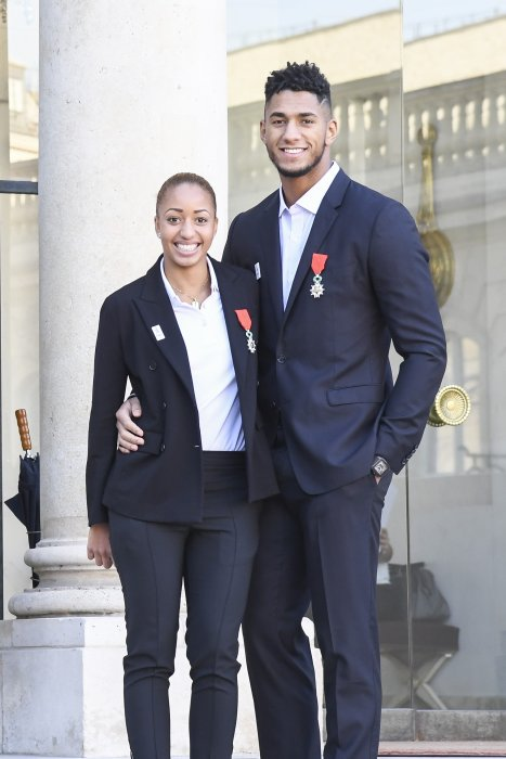 Tony Yoka et Estelle Mossely, un couple en or