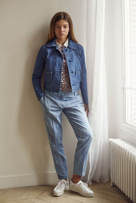Jean sporty-chic chez Paul & Joe Sister