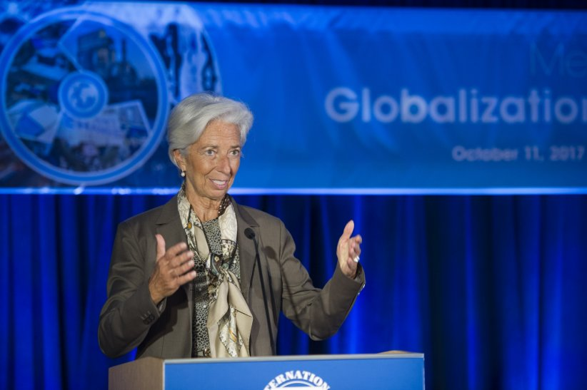 Christine Lagarde, à la tête de puissantes institutions
