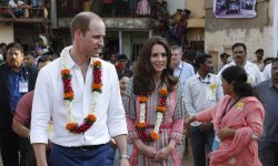 Kate Middleton fait sensation en Inde