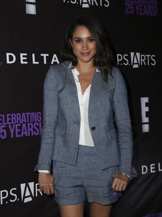 Meghan Markle à la soirée P.S. Arts à Hollywood, le 20 mai 2016.