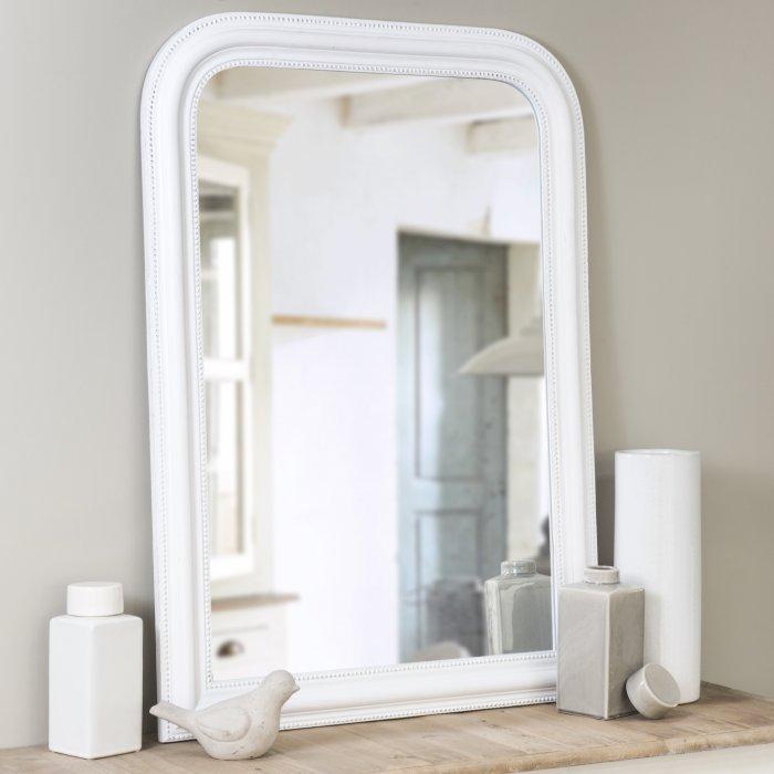Miroir Blanc Maison Du Monde.Plus Blanc Que Blanc 10 Objets Immacules Qui Ont Tout Bon