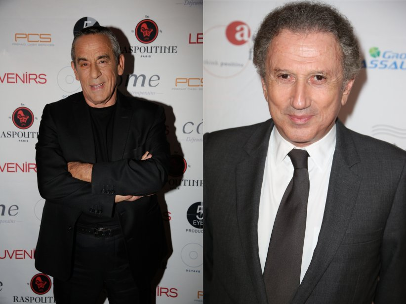 Thierry Ardisson et Michel Drucker : ils se pompent l'air mutuellement