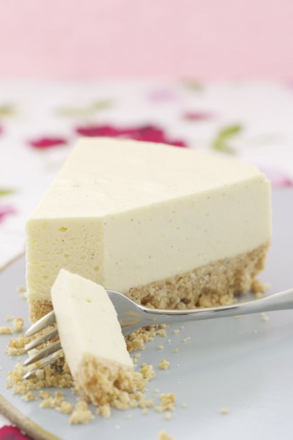 Cheesecake vanille citron sans cuisson