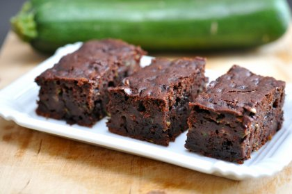 Brownie chocolat noir courgette